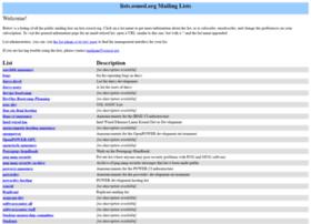 lists.osuosl.org