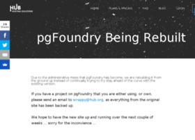 lists.pgfoundry.org