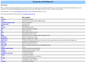 lists.purdue.edu