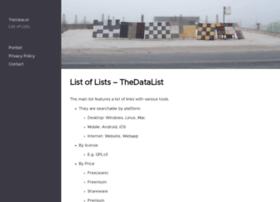 lists.thedatalist.com