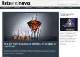 listsandnews.com