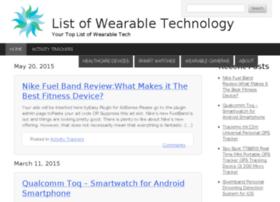 listwearabletechnology.com