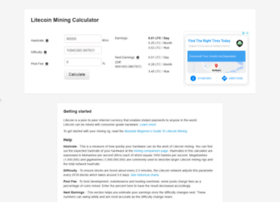 litecoinminingcalculator.com