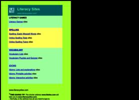 literacysites.com