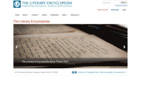 literaryencyclopedia.com