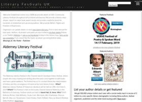 literaryfestivals.co.uk