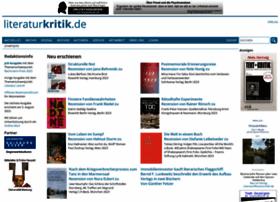 literaturkritik.de