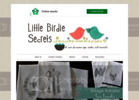 littlebirdiesecrets.blogspot.com