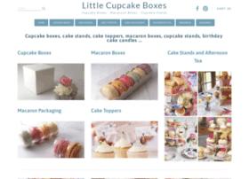 littlecupcakeboxes.co.uk