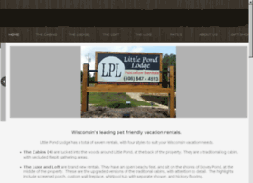littlepondlodgecabins.com