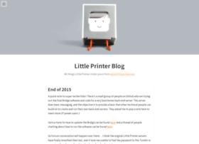 littleprinterblog.tumblr.com