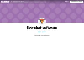 live-chat-software.tumblr.com
