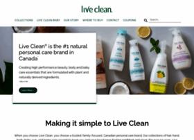 live-clean.com
