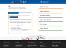 live.acbl.org