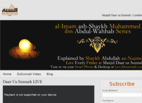 live.dusunnah.com