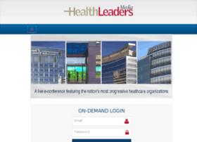 live.healthleadersmedia.com