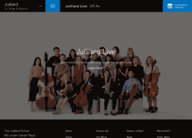live.juilliard.edu