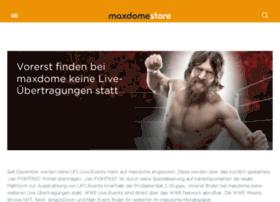 live.maxdome.de