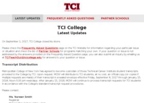 live.tcicollege.edu