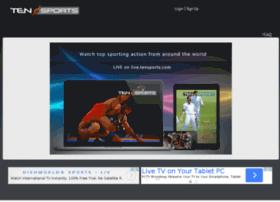 live.tensports.com