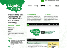 liveablecities.org.uk