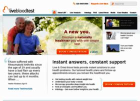livebloodtest.com