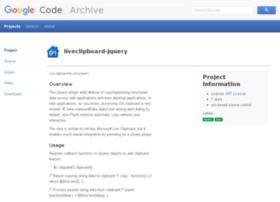 liveclipboard-jquery.googlecode.com