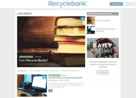 livegreen.recyclebank.com