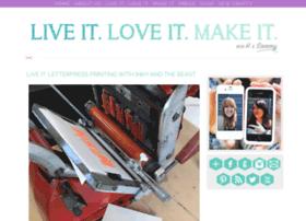 liveitloveitmakeit.blogspot.co.uk