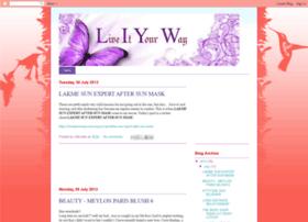 liveitonyourway.blogspot.com