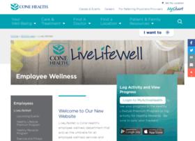 livelifewell.conehealth.com