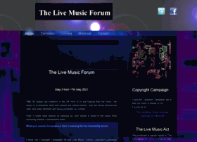 livemusicforum.co.uk