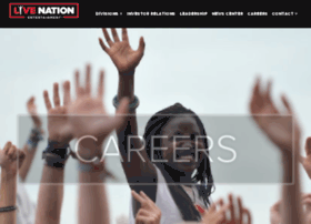 livenationcareers.com