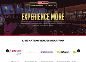 livenationpremiumseats.com