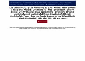 liveonlinetv247.com