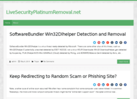livesecurityplatinumremoval.net