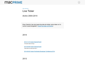 liveticker.macprime.ch