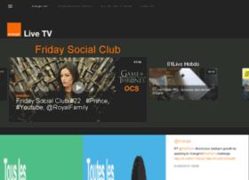 livetv.orange.com