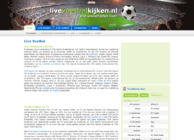 livevoetbalkijken.nl