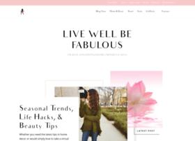 livewellbefabulous.com