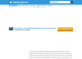 living-marine-aquarium-screensaver.programas-gratis.net