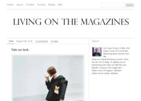 livingonthemagazines.com