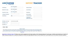 livingstontracker.com