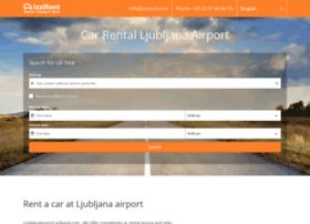 ljubljanaairportcarrental.com