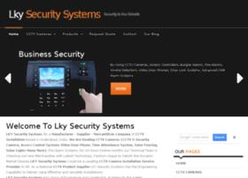 lkysecuritysystems.com