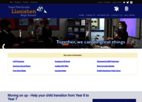 llanishenhighschool.co.uk
