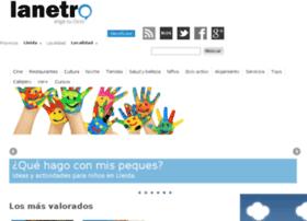 lleida.lanetro.com