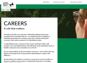 lloydsbankinggroup-careers.com