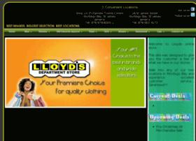 lloydsdeptstore.com