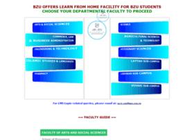 lms.bzu.edu.pk